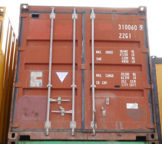 20' Materialcontainer/ Magazincont. [FSCU3100609]