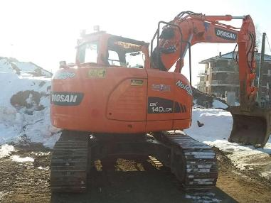 履带式挖掘机 - Doosan DX 140 LCR