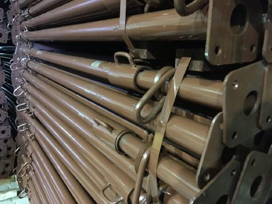 Stahlrohrstütze / Lackiert