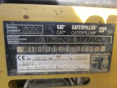 Rupsgraafmachine - Caterpillar 305C CR