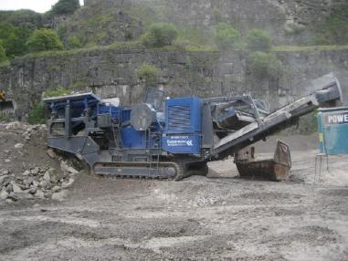 mobile Brecheranlage - Kleemann MC110Z Jaw