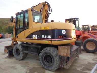 Mobile excavator - Caterpillar M313C