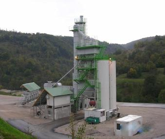 nepokretna mješalica za asfalt - Kovinarska-Wibau 60 - 400 tph