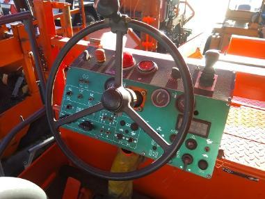 轮胎式沥青摊铺机 - Dynapac F12-4W