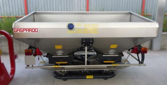 Gaspardo Fertilizator centrifug cu disc dublu model Zeno 32