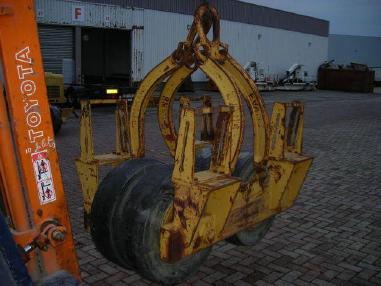 铺管机 - EVANS PCP 12-24 Evans pneumatic tired lowering cradle to fit pipelayer