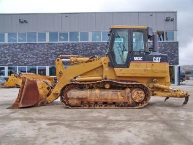 Bulldozer - Caterpillar 963C