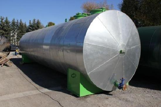 Wassertank 50.000 Liter isoliert