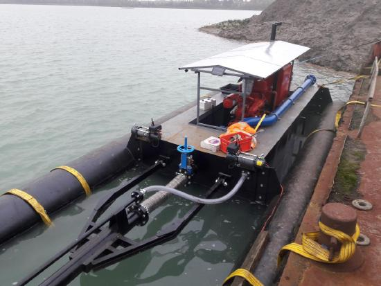 6inch dredge / dragage / dragues / dragas