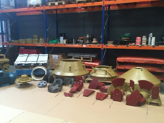 Spare parts for TRIO® equipment