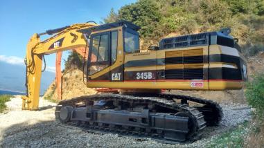 Escavatore cingolato - Caterpillar 345BL