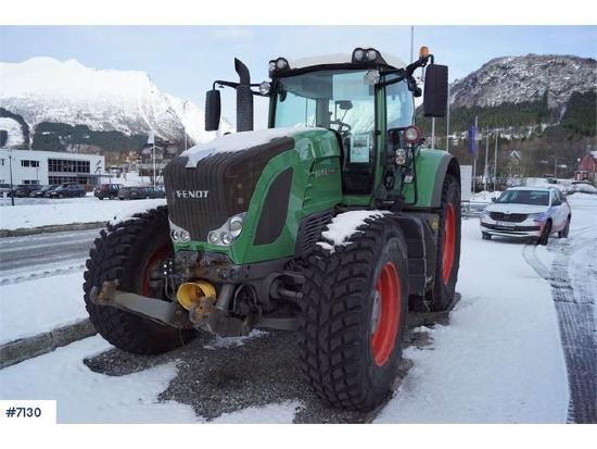 Fendt 930 Vario 4x4 Tractor with PTO front and rear and