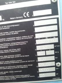 pneumatska tehnika - Compair L 15-10