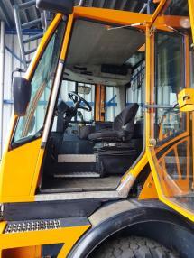 Pelle rail route machine de chantier - Divers Zweiweg, Road-Rail, RRV shunter