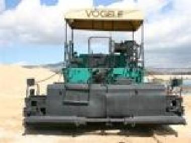 Łańcuchowa układarka asfaltu - Vögele 1800 S