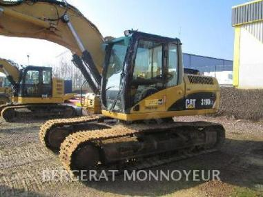 Tracked excavator - Caterpillar 319D