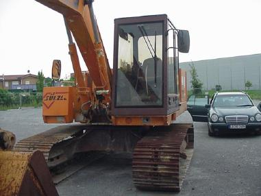 Tracked excavator - Case Poclain 888 Kettenbagger