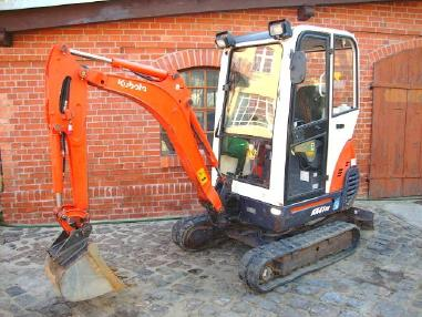 Miniexcavator - Kubota KX41-3V Minibagger excavator Hammerhydraulik