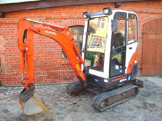 Kubota KX41-3V Minibagger excavator Hammerhydraulik