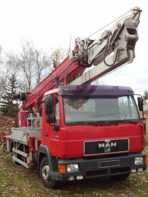 MAN L 2000 - Mobilkran DA53 mit Krananlage von Boecker Typ AK36/1000
