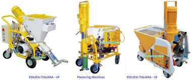 ostalo - EDILIZIA ITALIANA-UF Plastering Machine / Intonacatrice / Gips Spuitmachien - QUATTRO 220/400V or 400V