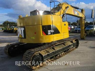Tracked excavator - Caterpillar 321D CR
