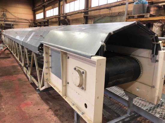 Metso Kellve unused conveyors