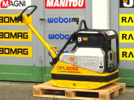 Wacker Rüttelplatte WACKER DPU 6055 / HATZ-Diesel -478 kg