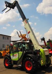 Chargeur télescopique - Claas CLAAS SCORPION 7040 TURBO - 4x4x4 - 7m / 4t. - 30