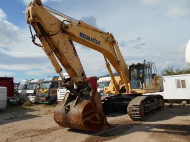 Excavator cu lanţ - Komatsu PC600 LC8