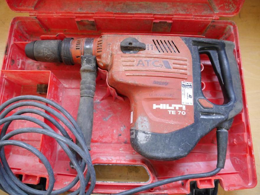 Hilti TE 70-ATC [W701100985] Kombihammer Hilti TE 70 ATC Bohrhammer und Meißelhammer in einem Gerät, überholt, voll funktionsfähig