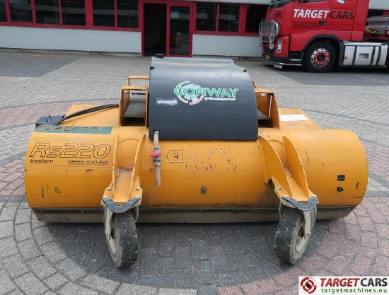 RS220 Collector Sweeper Bucket 220cm 2015