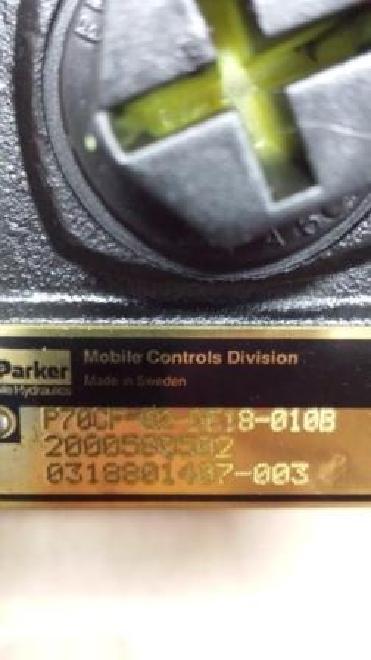 Terex Original Terex-Schaeff 5520661844 STEUERVENTIL / P70CF-02-DE18-0108 / 0318801487-003