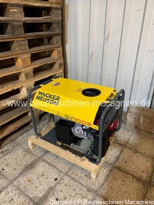 Wacker Neuson GV 7003 A Generator NEU