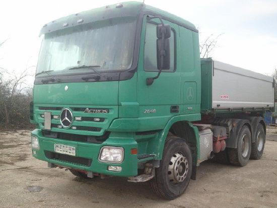 Mercedes Benz 2648 Actros K 6x4,