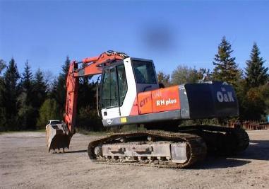 Escavatore cingolato - O&K RHplus