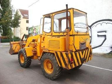 Ładowarka kołowa - Ahlmann Radlader AL8 wheelloader 5,8to 4x4 Palettengabel