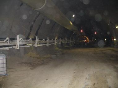 Macchina per costruzione gallerie - CCL (Joy Mining). Two Tunnel Conveyors 1700 Mts Long.