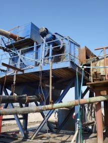 stacionární prosévací zařízení - Ostatní Siebanlage