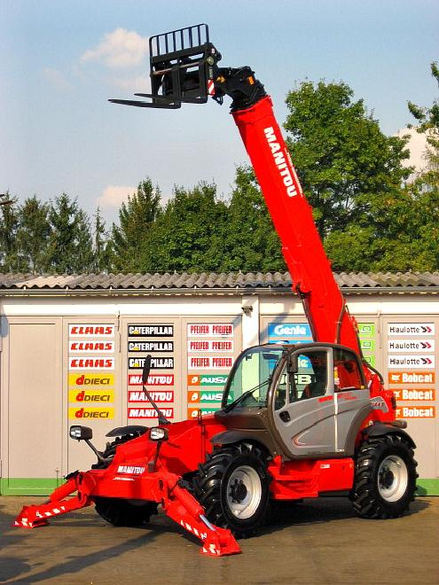 Manitou MT 1440 TURBO PRIVILEGE - 4x4x4 - 14m / 4t