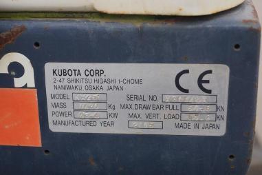 Mobile excavator - Kubota KX251