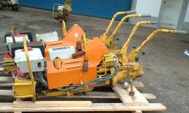 Rail construction machinery - Robel Robel 800 30.42