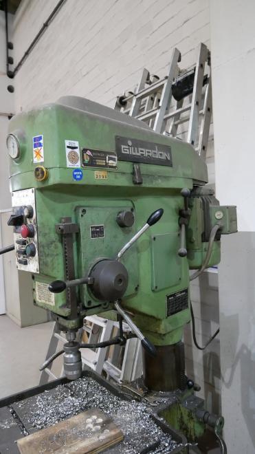 Säulenbohrmaschine GB40V [9110002026] Gillardon