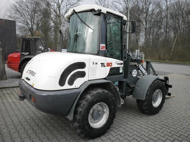 Pala gommata - Terex-Schaeff TL80