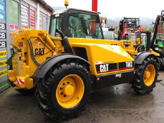 Caterpillar Caterpillar CAT TH 62 TURBO 4x4x4 ** 3t. / 8m **