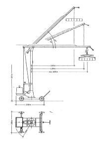 Mininosturi - Steinweg MK 2
