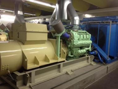 Agregat prądotwórczy - MTU-Piller MTU 8V396