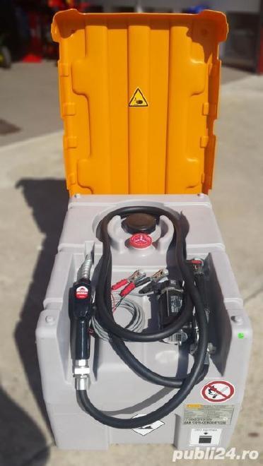 Rezervor transportabil (cisterna) combustibil