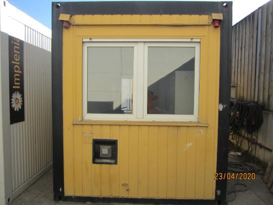 BILFINGER 20' Bürocontainer und Seecontainer
