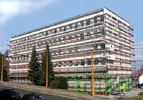 Altrad Baumann fasadne, modularne, pokretne aluminijske